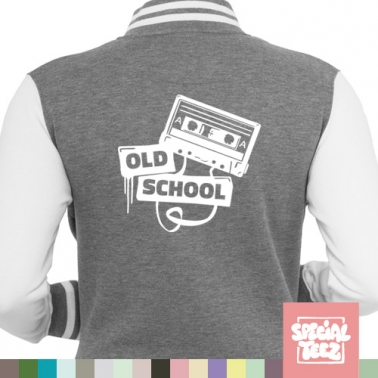 College Jacke - Old school tape