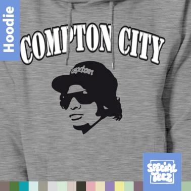 Hoodie - Compton city