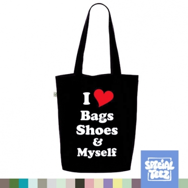 Jutebeutel - I love shoes, bags & myself
