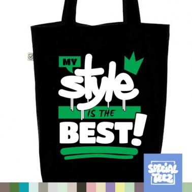 Jutebeutel - My style is the best