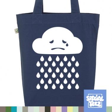 Jutebeutel - Sad cloud