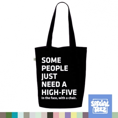 Jutebeutel - Some people need a high five