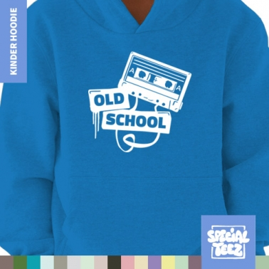 Hoodie - Old school tape