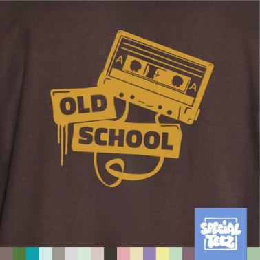 T-Shirt - Old school tape
