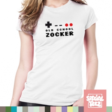 T-Shirt - Old school Zocker