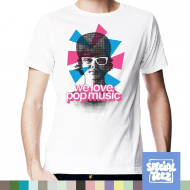 T-Shirt - We love pop music