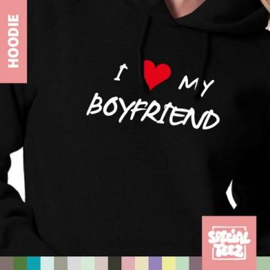 Hoodie - I love my boyfriend
