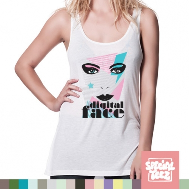 Tank Top - Digital face