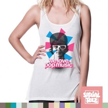 Tank Top - We love popmusic