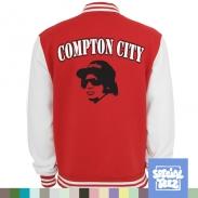 College Jacke - Compton city