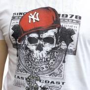 T-Shirt - Hustler Totenkopf