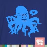 T-Shirt - Datenkrake