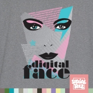 Tank Top - Digital face